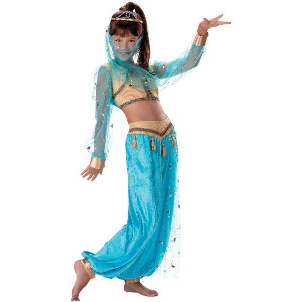 girls mystical genie costume deluxe halloween - Mystical Halloween Costumes