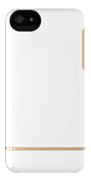 Adopted Forged Case - iPhone 5/5S -White/Gold - An iPhone 5 exclusive – our Forged Case provides full device protection intricately crafted from a quartet of fused materials. The precision cas...