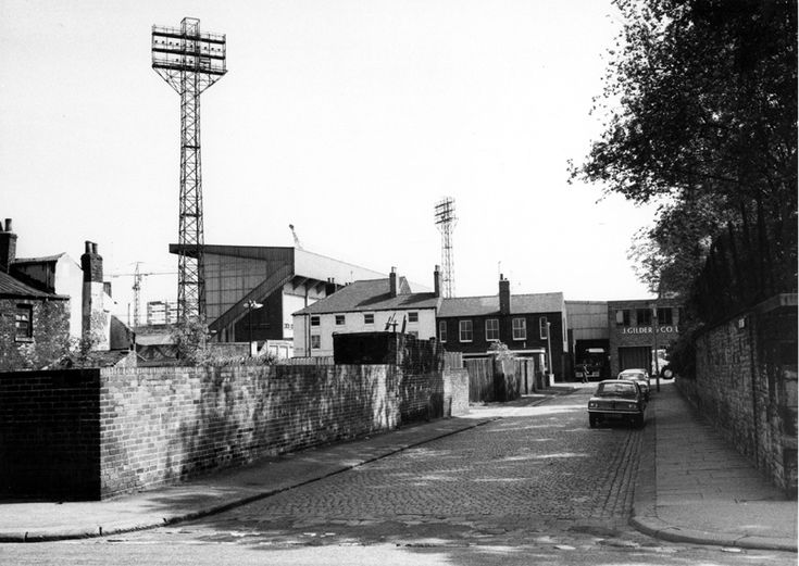 Unstone Street From Denby Street Looking Towards John