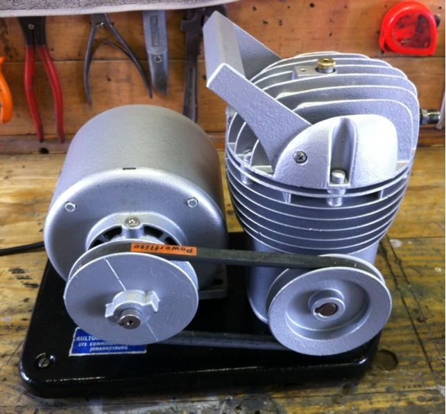 Portable compressor to use without tank.