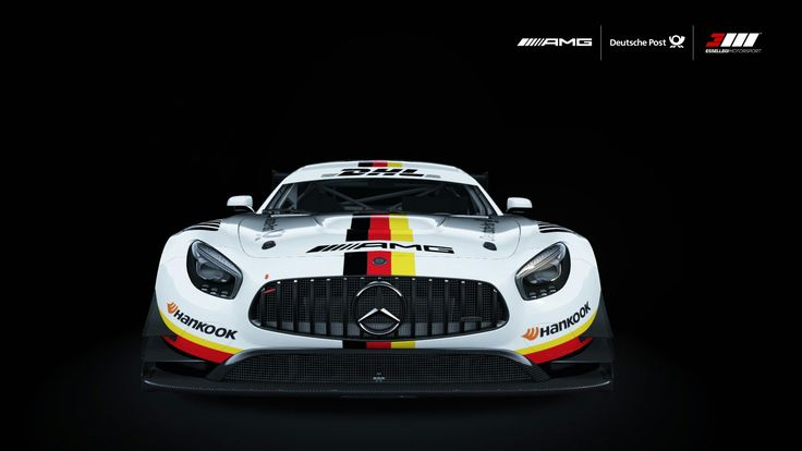 Mercedes-Benz AMG GT3 | Deutsche Post Motorsport Livery by Essellegi Mercedes-Benz AMG GT3 – Deutsche Post Tribute Motorsport Livery Design by Essellegi. All rights reserved
