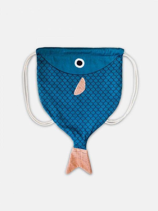 Don Fisher – Navy Blue Halibut Backpack