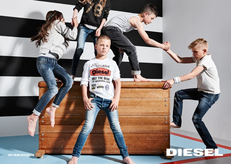 diesel kids campaign autumn winter 2015