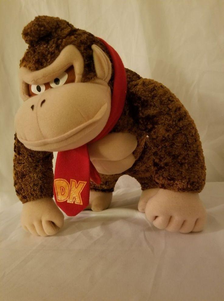 Nintendo Super Mario bros 9 inch Donkey Kong DK Plush by Kellytoy Kelly Toy  #Kellytoy