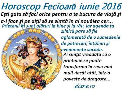 diane.ro: Horoscop Fecioară iunie 2016