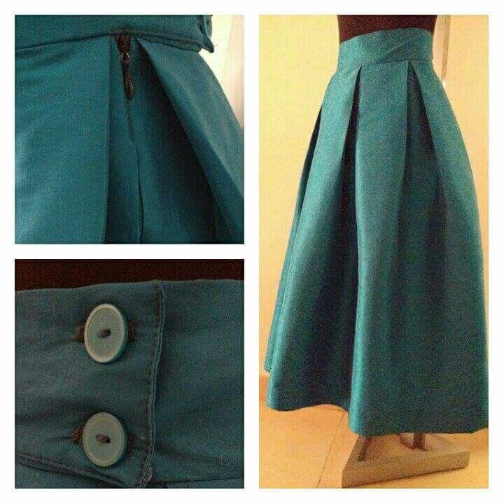 #Falda #Fashion  #blue