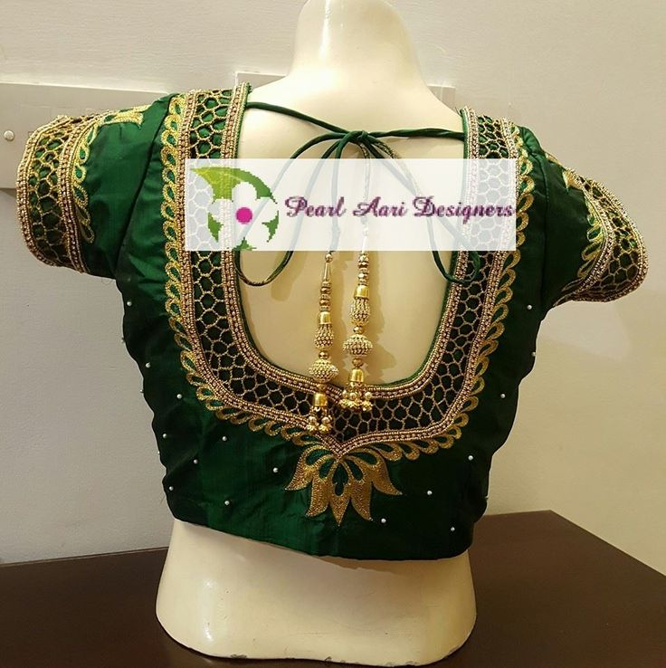 Pearl Aari Designers. No 12 Secretariat Colony Main Road LakshmipuramChennai. Cotact:096771 07154.