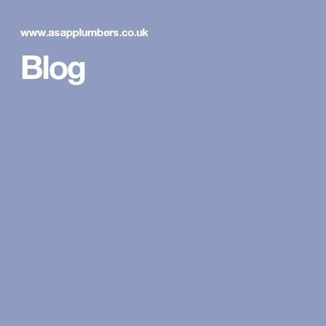 Why not visit ASAP Plumbers Blog to gain tips and knowledge of the plumbing world!