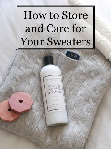 How to Care for Wool and Cashmere Sweaters | Summer Wind | Bloglovin'