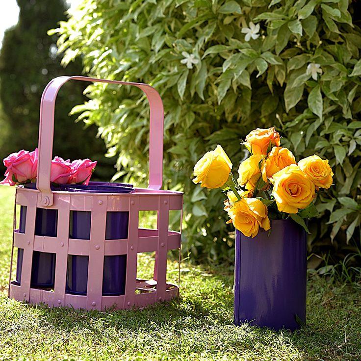 Cup planters - set of 4 #planters #plant #garden #flowers #shazliving #pinit #pinterest #leaves #gardening Shop at: https://www.shazliving.com/
