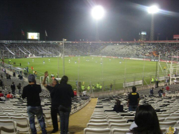 Estadio monumental David Arellano / Colo Colo - Cruzeiro / Copa Libertadores.