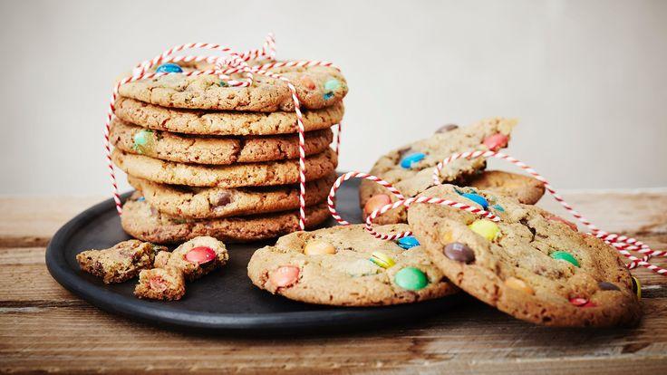 Cookies opskrift med chokoladeknapper - se den her
