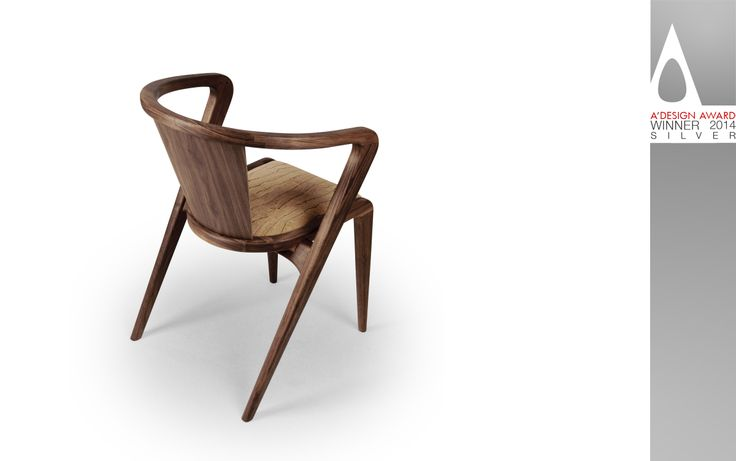 The PORTUGUESE ROOTS Chair WINS the International SILVER AWARD by A'DESIGN AWARDS