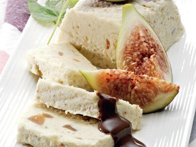 Semifreddo di fichi con salsa al cioccolato | Cioccolato che passione