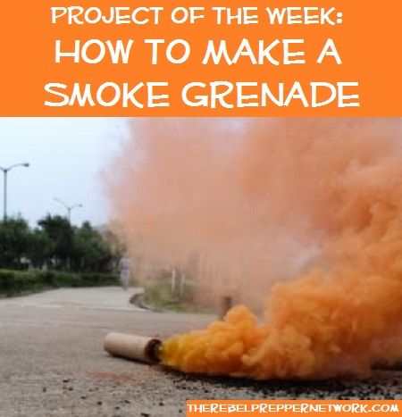Project of the Week: How to Make a Smoke Grenade