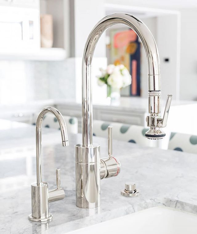 Faucet Friday The Waterstone Transitional Plp Pulldown Along With Our Matching Filtration Polished Nickel Kitchen Faucet Kitchen Faucet Kitchen Faucet Design