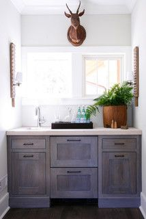 Grey Stained Kitchen Cabinets Design Ideas Pictures Remodel And Decor Pretty Stain