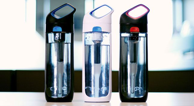 This Water Bottle Filters As You Sip!   Brit + Co.