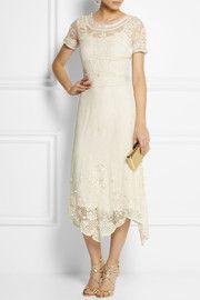 Sophia KokosalakiBolina embroidered cotton-tulle dress