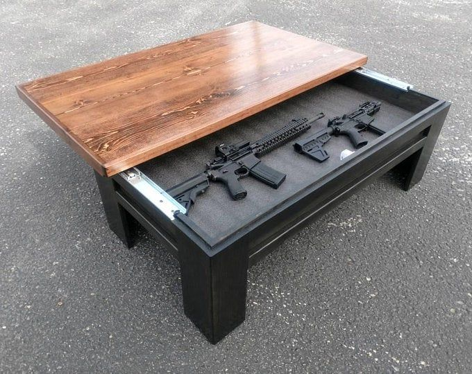 16+ Coffee table for guns information