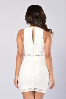 Dashing Dress - White