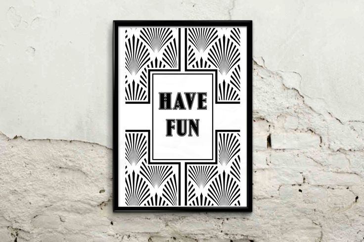 HAVE FUN - Digital A4 instant printable stamp by AngesGemme on Etsy