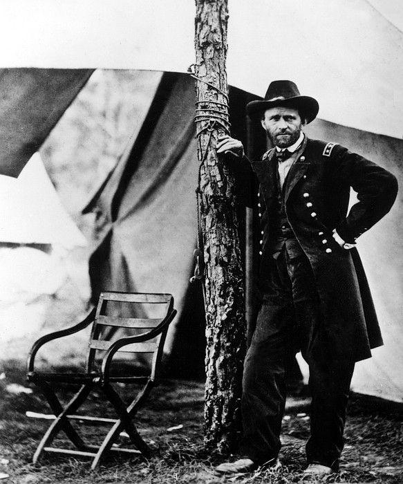 Civil War: Ulysses S. Grant #genealogy #CivilWar #military