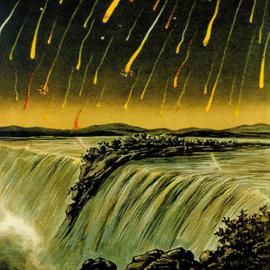 The next meteor shower is the Perseids on the night of August 11  The Moon is a thin crescent that rises about three hours before the Sun - little interference.