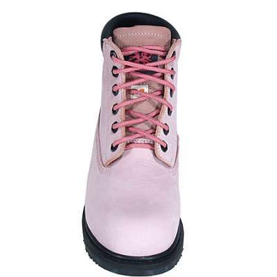 """Moxie Boot: Lightweight Composite Toe Betsy Xtreme Womens 6"""" Original Pink Work Boot 60121 - Women's Steel Toe Work Boots - Women's Steel Toe Boots - Footwear"""
