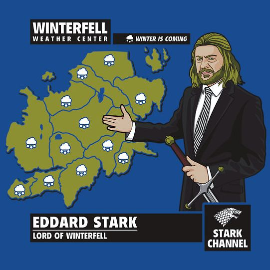 Winter is coming, y'all. #gameofthrones