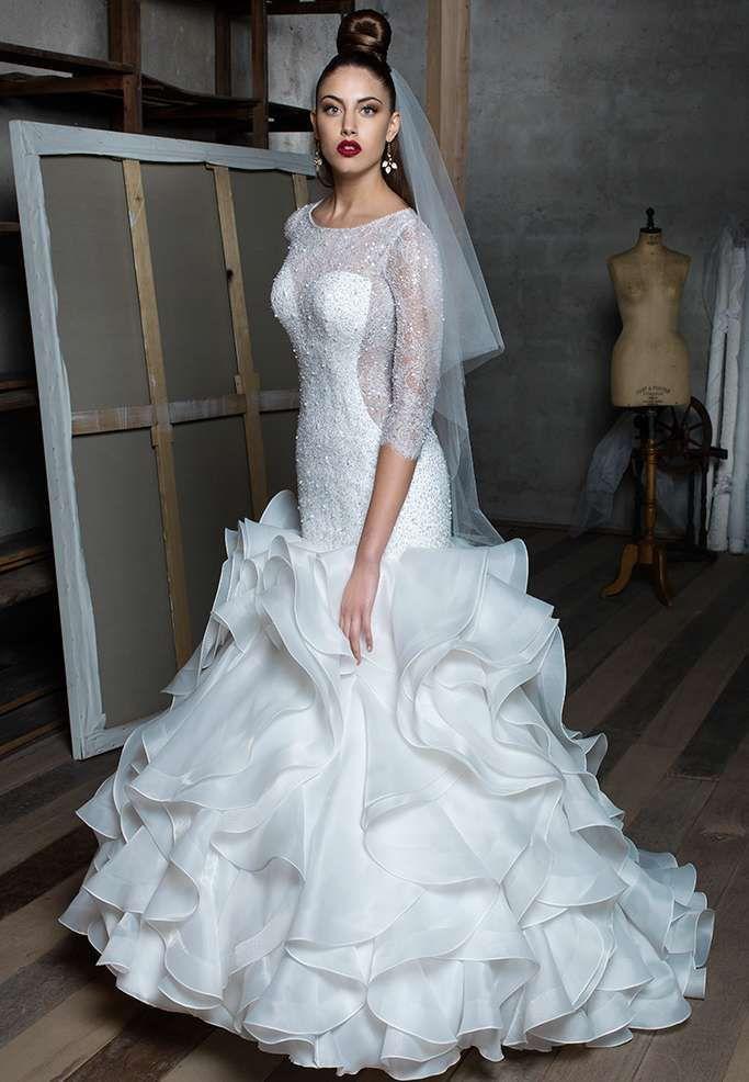 Gritti abiti da sposa 2017 - Vestito da sposa a sirena Gritti