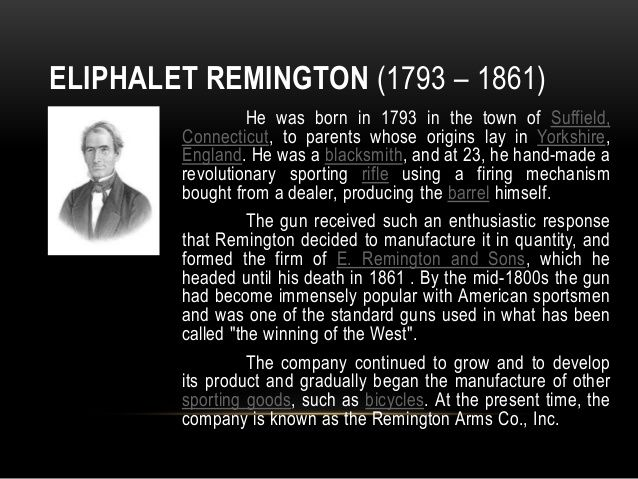 21 best images about Eliphalet Remington on Pinterest | Civil wars, The rifles and Advertising