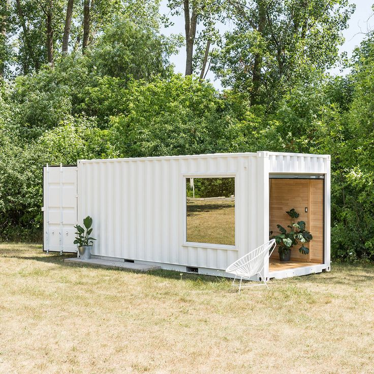 Shipping container serves as mobile boutique for luxury sportswear brand Needs & Wants