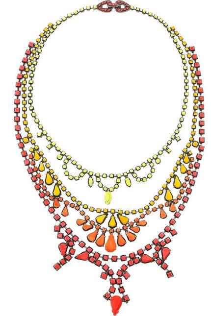 Ожерелья Сваровски от Tom Binns