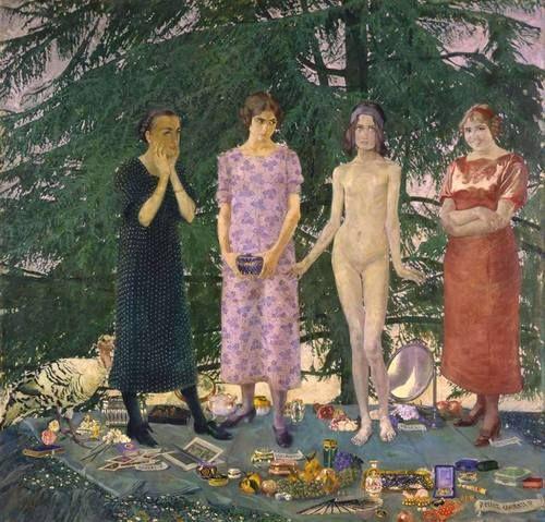 Felice Casorati (Italian, 1883-1963) - Le Signorine - 1912