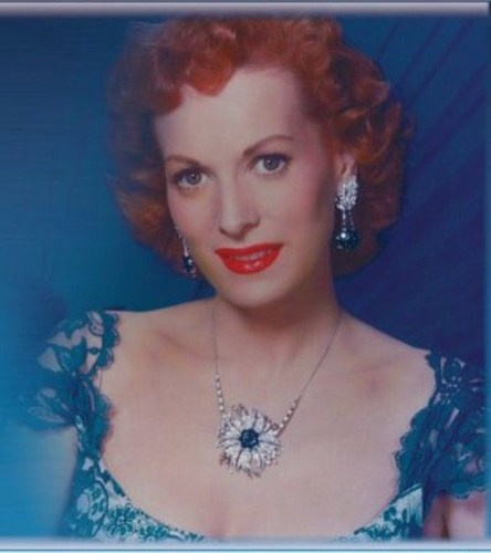 Maureen O'Hara pendant by Newbridge Silverware. Maureen designed this piece herself and was pictured many times wearing it. Timeless beauty!