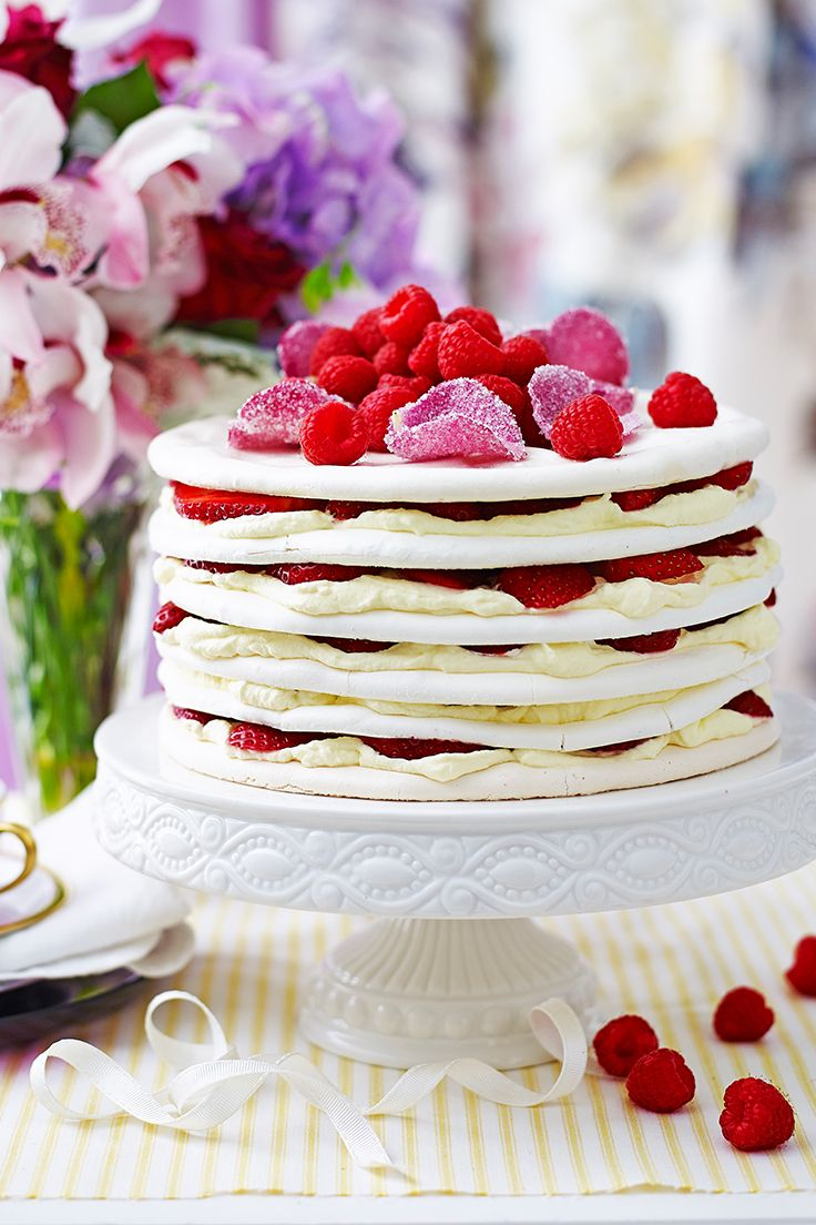 Requested time and time again, this gorgeous layer cake from The Australian Women's Weekly's Best Ever Recipes cookbook is a favourite for a reason - it's the perfect combination of sweet and stunning.