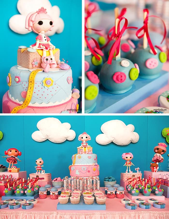 Lalaloopsy Party with So Many Cute Ideas via Kara's Party Ideas | KarasPartyIdeas.com #LalaloopsyParty #PartyIdeas #Supplies