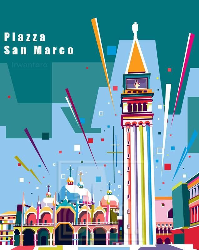 Piazza San Marco di Venezia, Veneto