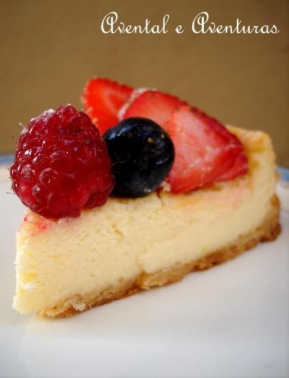 Cheesecake assado