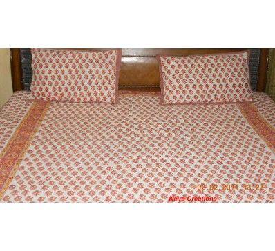 <<<<<<<<<<<<<<<<<<< New Arrival ===========> #Bagru Print #Cotton #Bedspread #Indian #Handmade http://kalracreations.com/home-furnishing/bagru-print-cotton-bedspread.html