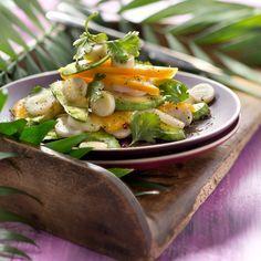 Découvrez la recette Avocats à la cubaine sur cuisineactuelle.fr.