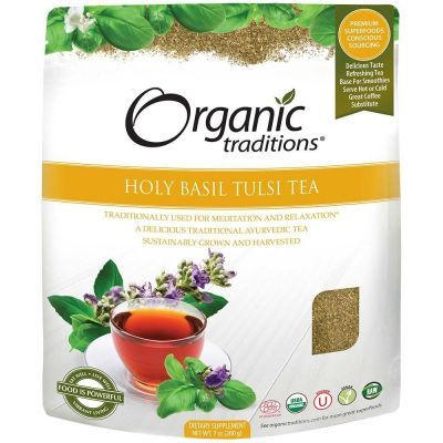 Organic Holy Basil (Tulsi) Tea Cut