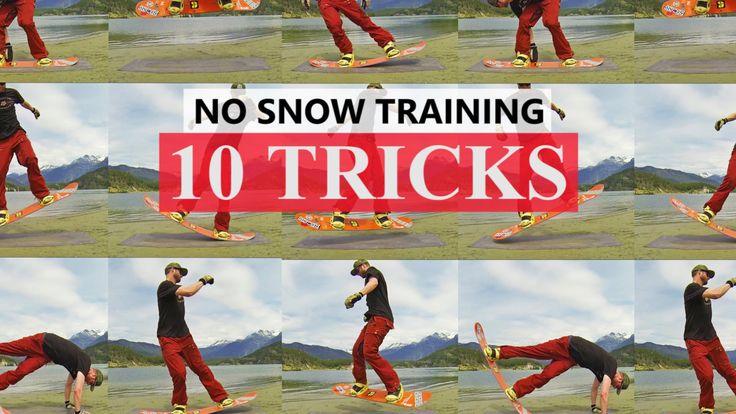 10 Snowboard Tricks for Pre Season Training