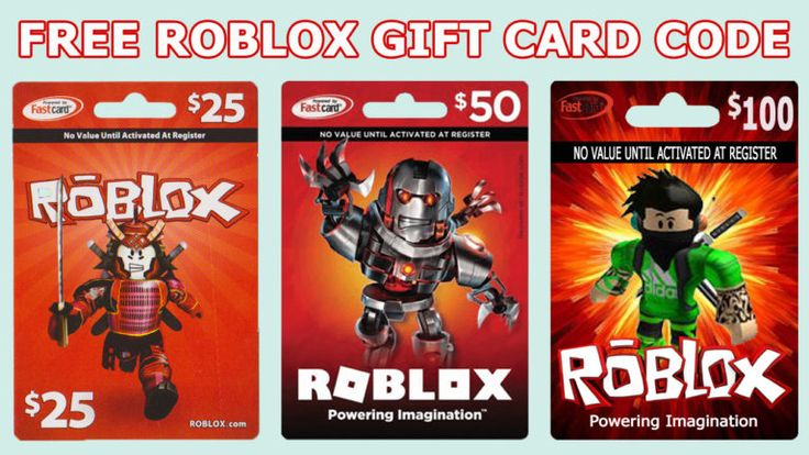 Free roblox gift card code hgame in 2020 roblox gifts
