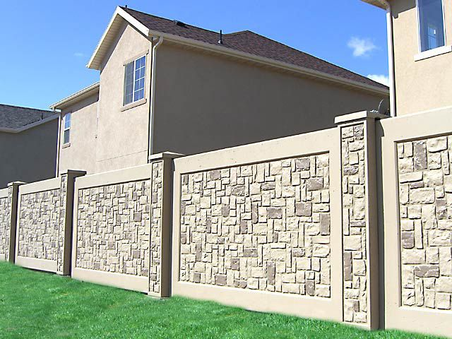 Best 25+ Boundary walls ideas on Pinterest | Fence wall ...