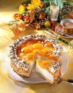 Unser beliebtes Rezept für Pfirsich-Sekt-Torte und mehr als 55.000 weitere kostenlose Rezepte auf LECKER.de.
