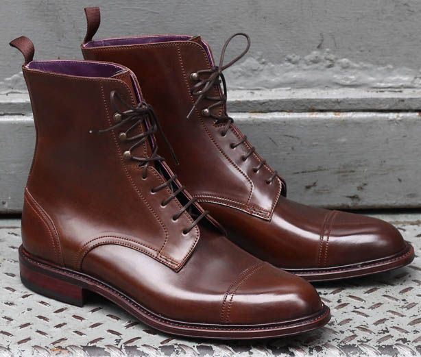 Shoe Porn: Carmina Jumper Boot - Military Boots for Men - Esquire