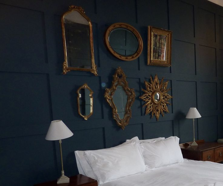 wonderful benjamin moore bedroom paint colors   Benjamin Moore Newburg Green looks wonderful with crisp ...