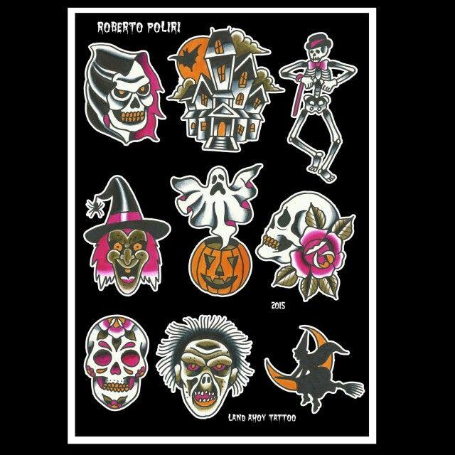Halloween Tattoos Available.